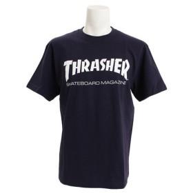 THRASHER MAG LOGO Tシャツ TH8101NV (Men's)