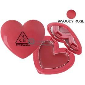 3シーイー 3CE ハート ポット リップ #WOODY ROSE (397088)