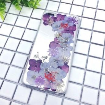 ケース 押し花 アイフォン 多機種対応 スマホケース iPhone11/11pro/X/XS/XR/ MAX 7/8