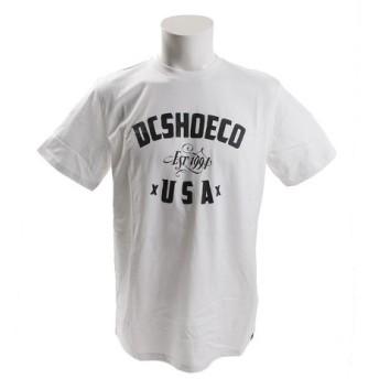 ディーシー・シュー(DC SHOE) DC FUSTY 半袖Tシャツ 18SPEDYZT03794WBB0 (Men's)