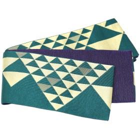 浴衣・着物の帯 - MINE CUBE 角帯 ジャガード織 鱗