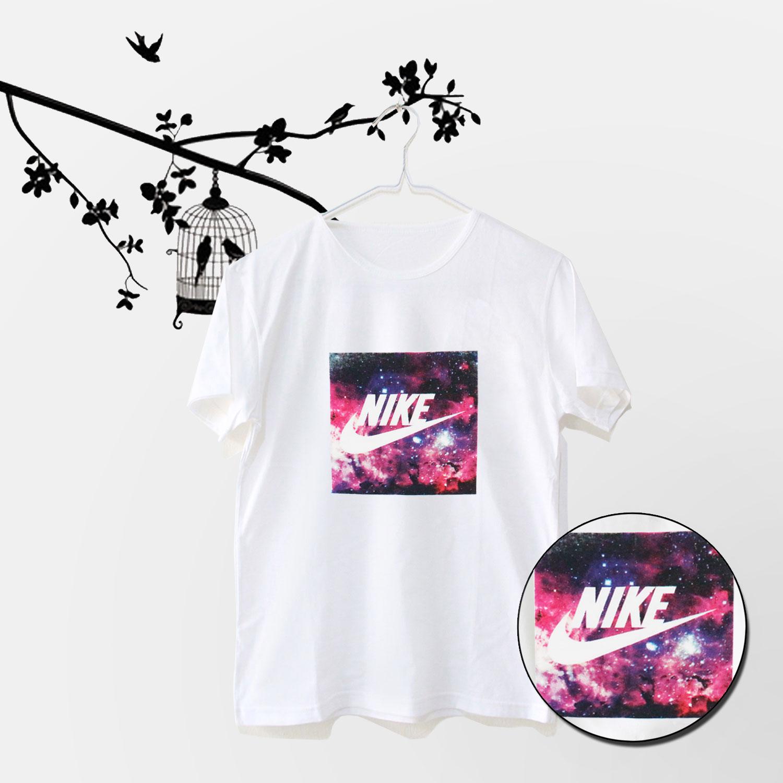 Tumblr Tee / T-Shirt / Kaos Wanita Lengan Pendek Nike Premium Warna Putih
