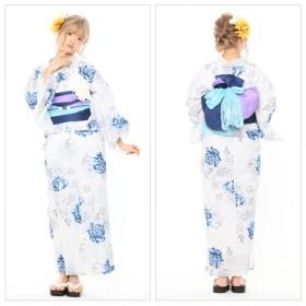 浴衣 - SWEET ANGEL 浴衣8点セット/YS305/紫x