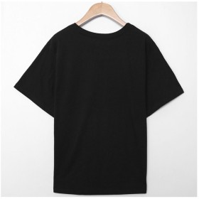 Tシャツ - VIVID LADY tシャツ レディース 半袖 ロゴtシャツ レディース 半袖 tシャツ 半袖 tシャツ レディース tシャツ ロゴ入りレディースtシャツ レディース おしゃれ 半袖tシャツ レディース 半袖tシャツ tsdo0377