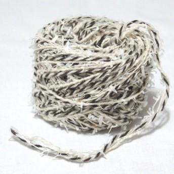 ブラウンミックス*自然素材*引き揃え糸*30g巻