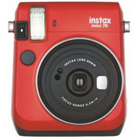 インスタントカメラ 『チェキ』 instax mini 70N レッド
