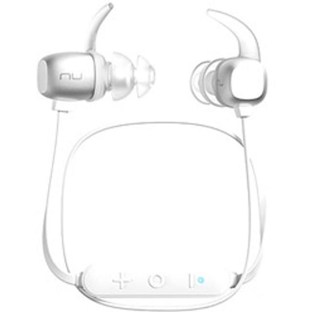 ブルートゥースイヤホン カナル型 BE Sport4 APBESPORTHSL シルバーホワイト [防滴&ネックバンド /Bluetooth]