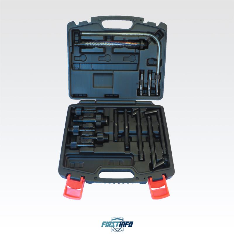 自排油 / 變速箱油/ATF油更換抽油加油專用管件14件組