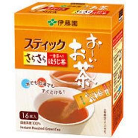 【水出し可】伊藤園 おーいお茶 さらさらほうじ茶 スティック 1箱(16本入)