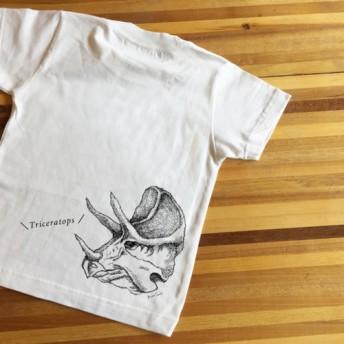 名前入り可能 Tシャツ★ 恐竜!トリケラトプス Tシャツ☆