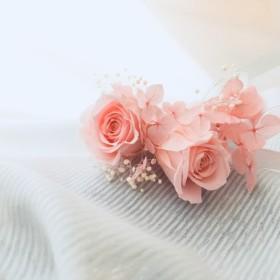 リストレット プリザーブドフラワー ピンク