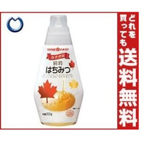 【送料無料】加藤美蜂園本舗 サクラ印 カナダ産純粋はちみつ 200g×12本入