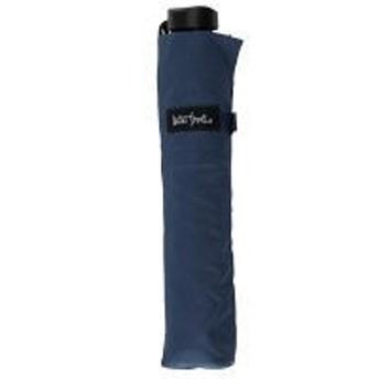 ワゴンセール晴雨兼用 UV加工 極軽カーボン三折 親骨6本・53cm 軽量113g 紺 1本 シューズセレクション