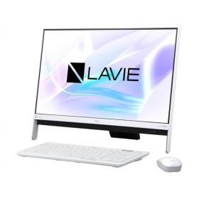 新品同様 NEC PC-DA350HAW デスクトップパソコン LAVIE Desk All-in-one DA350/HAW [液晶一体/Celeron/メモリ 4GB/HDD 1TB]
