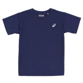 アシックス(ASICS) 【ゼビオグループ限定】 ジュニア ワンポイントTシャツ ネイビー EZX929.50 (Jr)