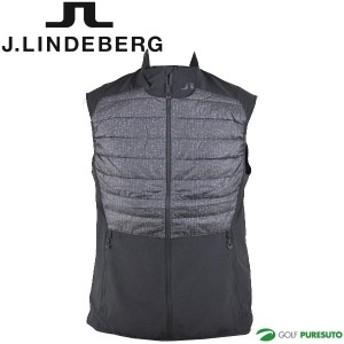 【即納!】J.リンドバーグ ゴルフ ブルゾンベスト 中綿入り メンズ 071-46770