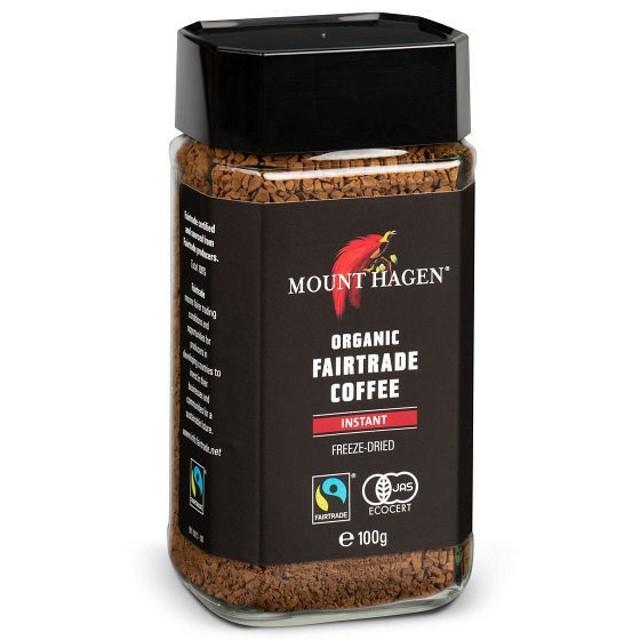 インスタントコーヒー  瓶 マウントハーゲン オーガニック インスタントコーヒー 1本(100g)