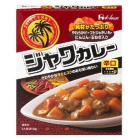 ハウス食品 ジャワカレー 辛口 210g 1袋