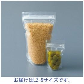 ラミジップ(R)(チャック袋) 透明ナイロンタイプ LZ-9 横90×縦115×底マチ28mm 1袋(50枚入) 生産日本社