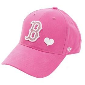 フォーティーセブン ブランド(47 Brand) ジュニア Red Sox Sugar Sweet キャップ B-SGSWT02BCV-MA-KID (Jr)