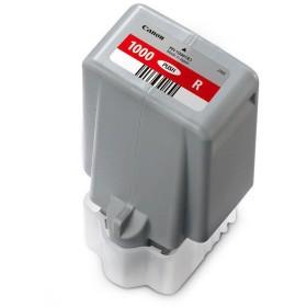 キヤノン インクカートリッジ PFI-1000R レッド(0554C004)