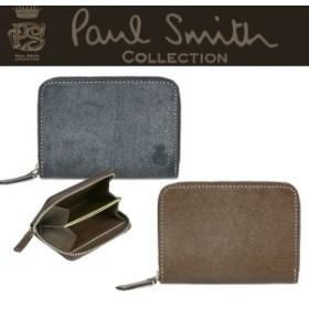 ポールスミス 小銭入れ コイン パスケース Paul Smith PCワックス J168