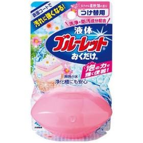 液体ブルーレットおくだけ トイレタンク芳香洗浄剤 つけ替え用 洗いたて柔軟剤の香り 70ml 小林製薬