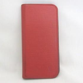 ルイヴィトン Louis Vuitton エピ iPhone6ケース M56257 小物 赤【中古】