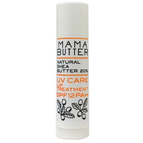MAMA BUTTER(ママバター) UVケア リップトリートメント SPF12 PA++ ビーバイイー