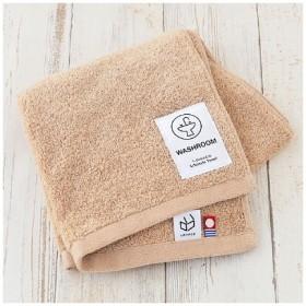 フェイスタオル LOHACO lifestyle towel ベージュ 洗面所 約34cm×75cm 1枚 今治タオル