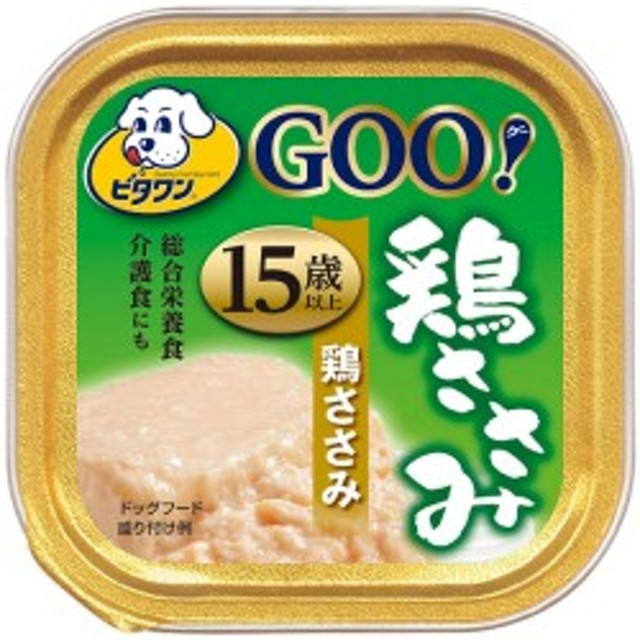 【日本ペット】ビタワングー 鶏ささみ 15歳以上 90g