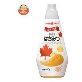 加藤美蜂園本舗 サクラ印 カナダ産純粋はちみつ 400g×12本入
