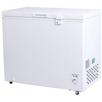 冷凍ストッカー 冷凍庫 200Lクラス(197L) フリーザー 上開き 小型 保存 -20℃以下 温度調整 キャスター 急冷 単相100V 家庭用 業務用 PlusQ QFZ20A