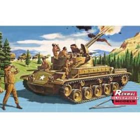 アメリカレベル 1/32 SSP M42 自走高射機関砲【7822】プラモデル 【返品種別B】