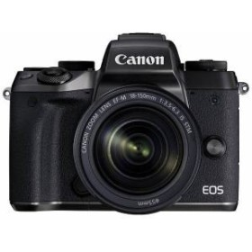 納期約1~2週間 お一人様1台限り EOSM5-18150ISSTMLK 代引き不可 canon キヤノン ミラーレス一眼カメラ EOS M5 レンズキット