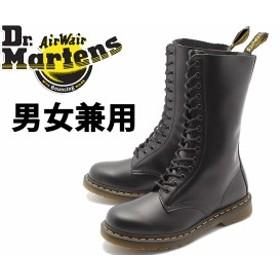 ドクターマーチン 1914 14ホール ブーツ 男性用兼女性用 DR.MARTENS R11855001 メンズ レディース 本革 レザー ロング ブーツ(10331016)