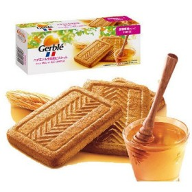 Gerble(ジェルブレ) ハチミツ&全粒粉ビスケット 1箱(5枚×4袋入) 大塚製薬 栄養補助食品