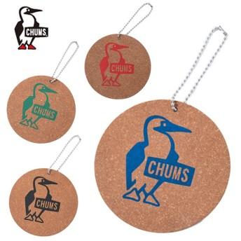 チャムス コースター リサイクルレザーコースターブービーロゴ キッチン用品 CH62-1176 CHUMS Recycle Leather Coaster Booby Logo