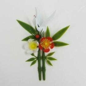 料理飾り 造花 鶴付夫婦松竹梅 DS-67 150個