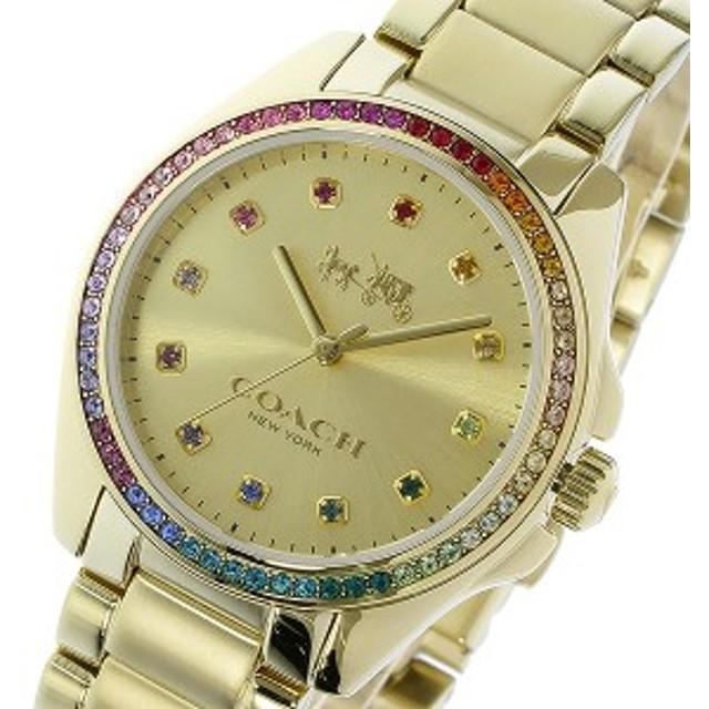 7a5b362ffd12 コーチ 腕時計 レディース COACH 時計 トリステン ラインストーン ベゼル 可愛い 人気 ブランド おしゃれ 女性 誕生日