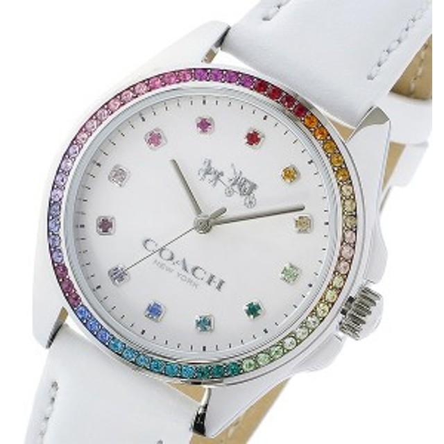 105d4356679b コーチ 腕時計 レディース COACH 時計 トリステン ラインストーン ベゼル 白 人気 ブランド おしゃれ 女性 誕生日