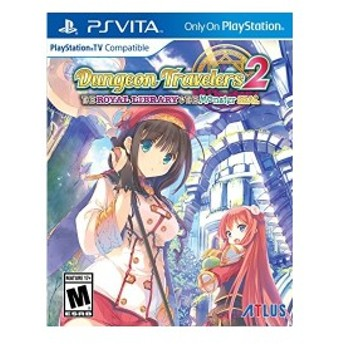 Dungeon Travelers 2 The Royal Library & the Monster Seal (輸入版:北米) - PS Vita 中古 良品