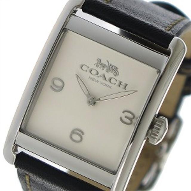 2cf69d21011b コーチ 腕時計 レディース COACH 時計 アイボリー ブラック 人気 ブランド おしゃれ 女性 誕生日 ギフト プレゼント