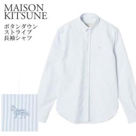 メゾンキツネ 長袖シャツ MAISON KITSUNE AM00402AT1100 【amw】