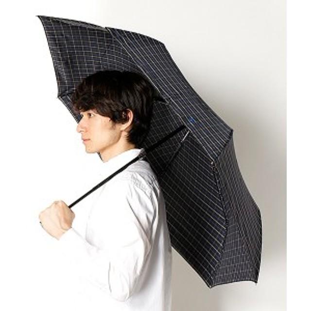 ポロ ラルフローレン(傘)POLO RALPH LAUREN(umbrella)/雨傘(3段/折りたたみ/自動開閉/ミニ)ツイル先染めタッタソールチェック(…