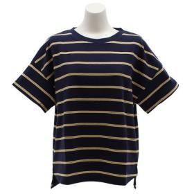 パワー・トゥ・ザ・ピープル(POWER TO THE PEOPLE) ドロップショルダーTシャツ 8512539-60NAV (Lady's)