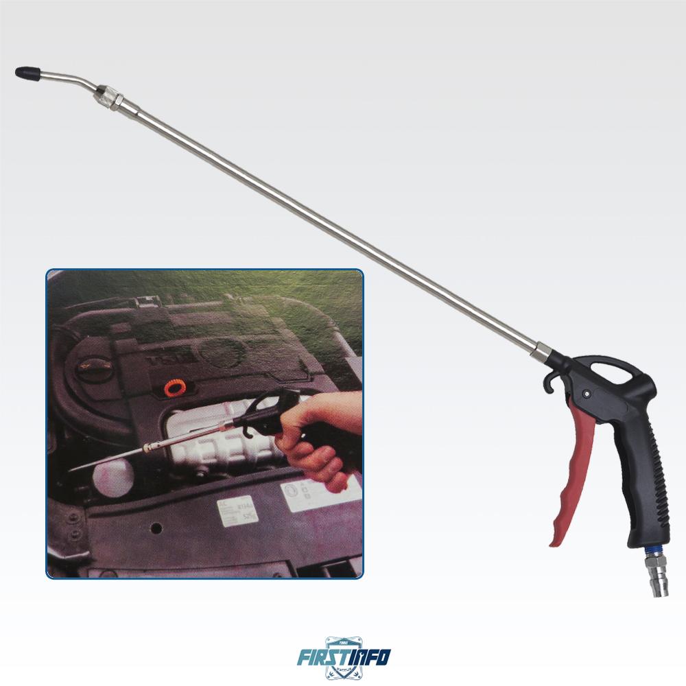 空壓專用 可調長度 415mm~750mm 塑鋼風槍 氣壓槍/吹塵槍 附接頭