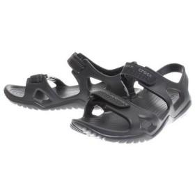 クロックス(crocs) swiftwater river sandal Blk #203965-060 (Men's)