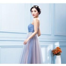 美しいマーメイドカラー* イブニングドレス ブライズメイド衣装にも♪ 2097
