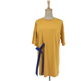 Tシャツ - Miniministore レディーストップス Tシャツ チュニック ワンピース シャツワンピース 半袖 人気
